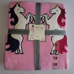 Unicorn PJ set super soft plush